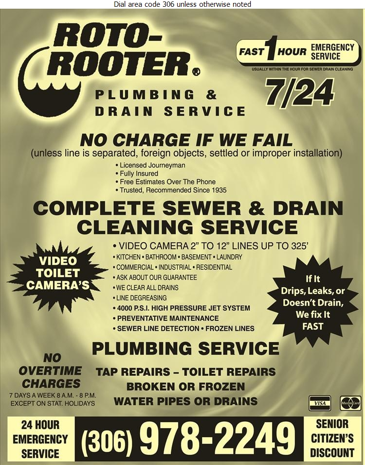 Roto Rooter Plumbing & Drain Service